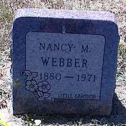 WEBBER, NANCY M. - La Plata County, Colorado | NANCY M. WEBBER - Colorado Gravestone Photos