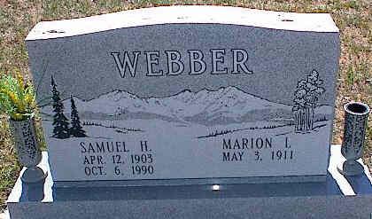WEBBER, SAMUEL H. - La Plata County, Colorado | SAMUEL H. WEBBER - Colorado Gravestone Photos