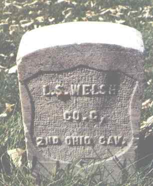 WELSH, L. S. - La Plata County, Colorado | L. S. WELSH - Colorado Gravestone Photos