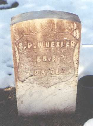 WHEELER, S. P. - La Plata County, Colorado | S. P. WHEELER - Colorado Gravestone Photos