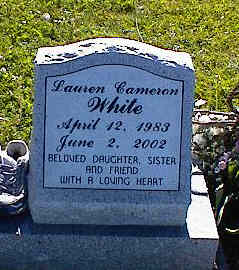 WHITE, LAUREN CAMERON - La Plata County, Colorado | LAUREN CAMERON WHITE - Colorado Gravestone Photos