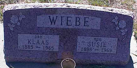WIEBE, SUSIE - La Plata County, Colorado | SUSIE WIEBE - Colorado Gravestone Photos
