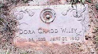 WILEY, DORA CHADD - La Plata County, Colorado | DORA CHADD WILEY - Colorado Gravestone Photos
