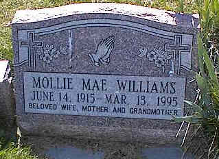 WILLIAMS, MOLLIE MAE - La Plata County, Colorado | MOLLIE MAE WILLIAMS - Colorado Gravestone Photos