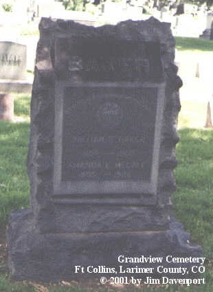 BAKER, WILLIAM B. - Larimer County, Colorado | WILLIAM B. BAKER - Colorado Gravestone Photos