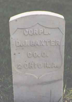 BAXTER, D. J. - Larimer County, Colorado | D. J. BAXTER - Colorado Gravestone Photos