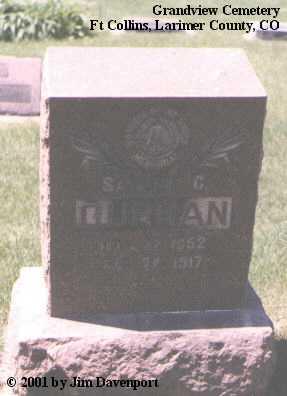 CURRAN, SAMUEL C. - Larimer County, Colorado | SAMUEL C. CURRAN - Colorado Gravestone Photos