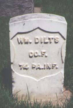 DILTS, WM. - Larimer County, Colorado | WM. DILTS - Colorado Gravestone Photos