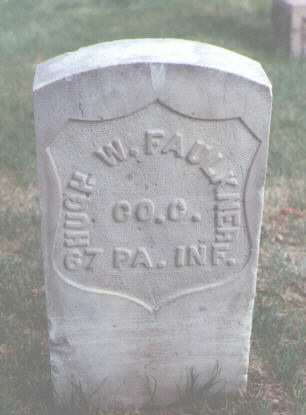 FAULKNER, HUGH W. - Larimer County, Colorado | HUGH W. FAULKNER - Colorado Gravestone Photos