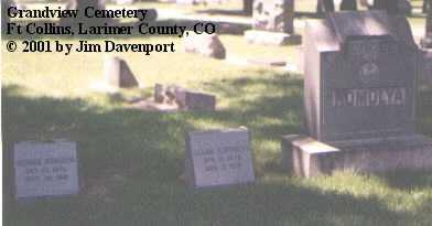 HOMOLYA, GEORGE - Larimer County, Colorado | GEORGE HOMOLYA - Colorado Gravestone Photos
