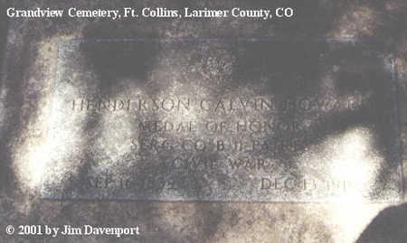 HOWARD, HENDERSON CALVIN - Larimer County, Colorado   HENDERSON CALVIN HOWARD - Colorado Gravestone Photos