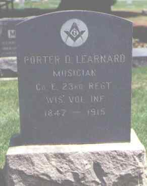 LEARNARD, PORTER D. - Larimer County, Colorado | PORTER D. LEARNARD - Colorado Gravestone Photos