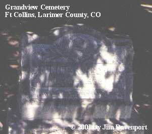 MCCAIN, MINNIE - Larimer County, Colorado | MINNIE MCCAIN - Colorado Gravestone Photos