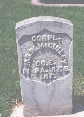 MCGINLEY, JAS. W. - Larimer County, Colorado | JAS. W. MCGINLEY - Colorado Gravestone Photos