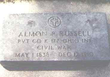 RUSSELL, ALMON P. - Larimer County, Colorado | ALMON P. RUSSELL - Colorado Gravestone Photos