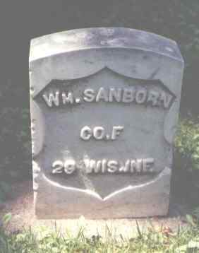 SANBORN, WM. - Larimer County, Colorado | WM. SANBORN - Colorado Gravestone Photos