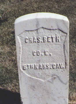BETH, CHAS. - Las Animas County, Colorado | CHAS. BETH - Colorado Gravestone Photos