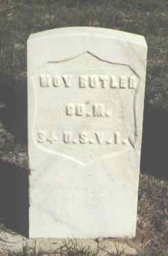 BUTLER, MOY - Las Animas County, Colorado | MOY BUTLER - Colorado Gravestone Photos