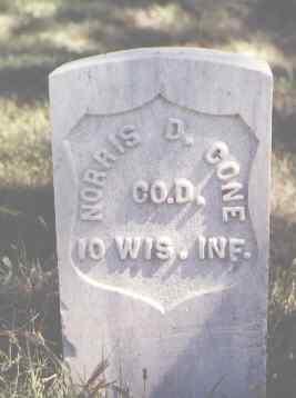 CONE, NORRIS D. - Las Animas County, Colorado   NORRIS D. CONE - Colorado Gravestone Photos