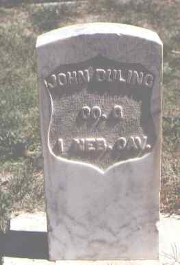 DULING, JOHN - Las Animas County, Colorado | JOHN DULING - Colorado Gravestone Photos