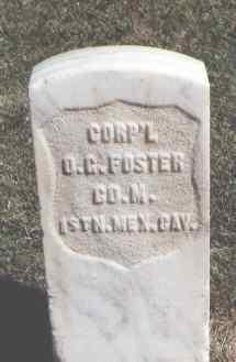 FOSTER, O. G. - Las Animas County, Colorado | O. G. FOSTER - Colorado Gravestone Photos