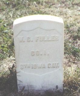 FULLER, W. C. - Las Animas County, Colorado | W. C. FULLER - Colorado Gravestone Photos
