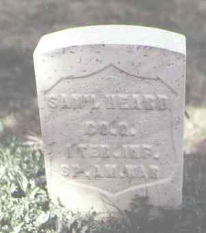 HEARD, SAM'L - Las Animas County, Colorado | SAM'L HEARD - Colorado Gravestone Photos