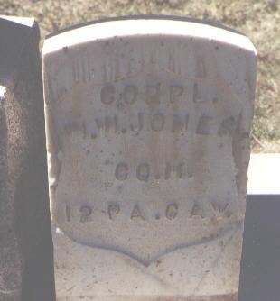 JONES, W. W. - Las Animas County, Colorado | W. W. JONES - Colorado Gravestone Photos