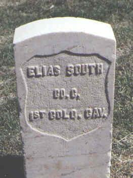 SOUTH, ELIAS - Las Animas County, Colorado | ELIAS SOUTH - Colorado Gravestone Photos