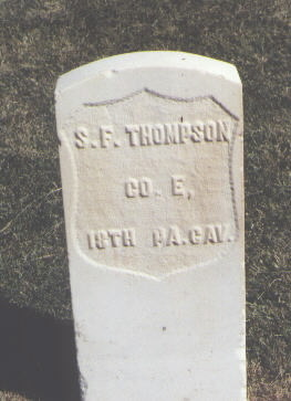 THOMPSON, S. F. - Las Animas County, Colorado | S. F. THOMPSON - Colorado Gravestone Photos