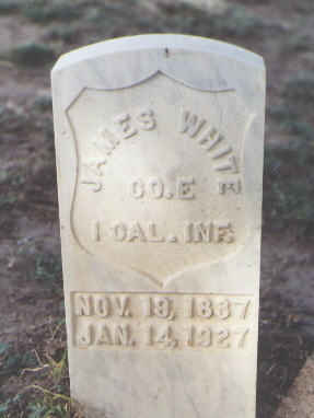 WHITE, JAMES - Las Animas County, Colorado | JAMES WHITE - Colorado Gravestone Photos