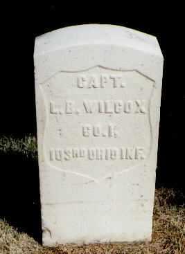 WILCOX, L. B. - Las Animas County, Colorado | L. B. WILCOX - Colorado Gravestone Photos