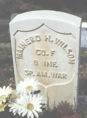 WILSON, MAINERD H. - Las Animas County, Colorado | MAINERD H. WILSON - Colorado Gravestone Photos