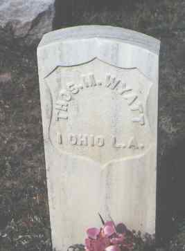 WYATT, THOS. M. - Las Animas County, Colorado | THOS. M. WYATT - Colorado Gravestone Photos