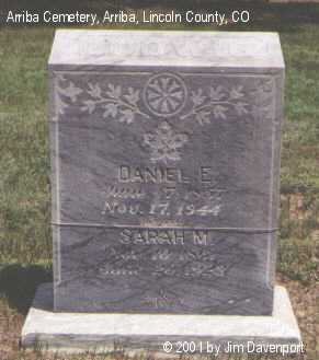 LUDWIG, DANIEL E. - Lincoln County, Colorado | DANIEL E. LUDWIG - Colorado Gravestone Photos