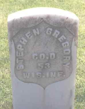 GREGORY, STEPHEN - Logan County, Colorado | STEPHEN GREGORY - Colorado Gravestone Photos