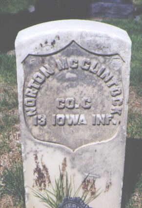 MCCLINTOCK, NORTON - Logan County, Colorado | NORTON MCCLINTOCK - Colorado Gravestone Photos