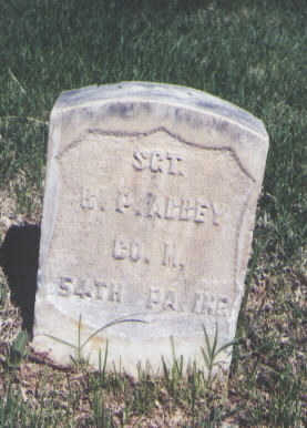 ABBEY, R. P. - Mesa County, Colorado | R. P. ABBEY - Colorado Gravestone Photos