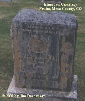 BARTON, ETTA M. - Mesa County, Colorado | ETTA M. BARTON - Colorado Gravestone Photos