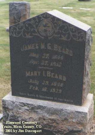 BEARD, MARY I. - Mesa County, Colorado   MARY I. BEARD - Colorado Gravestone Photos