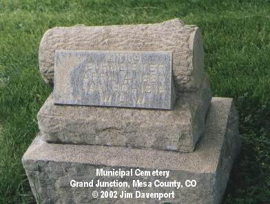 BURMEISTER, OTTO - Mesa County, Colorado | OTTO BURMEISTER - Colorado Gravestone Photos