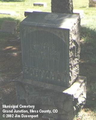 CARNAHAN, JAMES S. - Mesa County, Colorado   JAMES S. CARNAHAN - Colorado Gravestone Photos