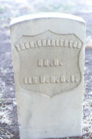 CHARLESTON, THOS. - Mesa County, Colorado | THOS. CHARLESTON - Colorado Gravestone Photos