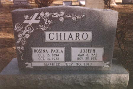 CHIARO, ROSINA - Mesa County, Colorado | ROSINA CHIARO - Colorado Gravestone Photos