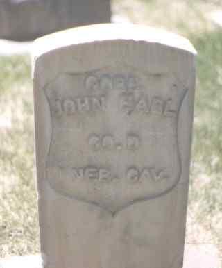 EARL, JOHN - Mesa County, Colorado | JOHN EARL - Colorado Gravestone Photos