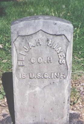 HINES, ELIJAH - Mesa County, Colorado   ELIJAH HINES - Colorado Gravestone Photos