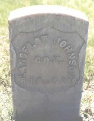 JOHNSON, LANCELOT - Mesa County, Colorado | LANCELOT JOHNSON - Colorado Gravestone Photos