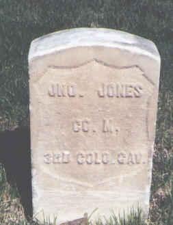 JONES, JNO. - Mesa County, Colorado | JNO. JONES - Colorado Gravestone Photos
