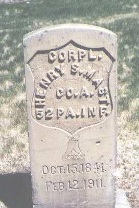 MAST, HENRY S. - Mesa County, Colorado | HENRY S. MAST - Colorado Gravestone Photos