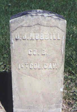 MORRILL, J. J. - Mesa County, Colorado | J. J. MORRILL - Colorado Gravestone Photos